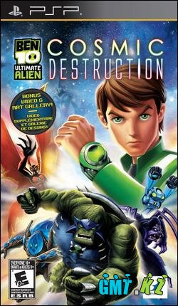 Ben 10 Ultimate Alien: Cosmic Destruction [ENG/Action/2010/FullRip/ISO]