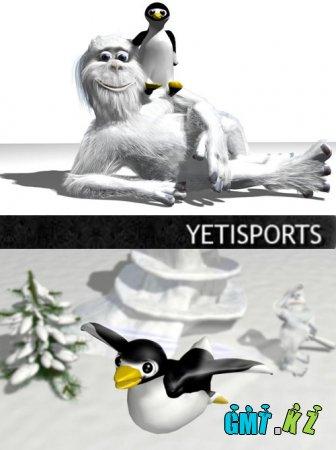 Йети Спорт / Yeti Sports (2007-2008/ENG)