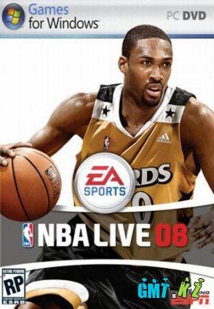NBA Live (2008/Rus/Пиратка)