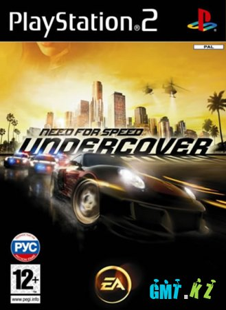 Need For Speed: Undercover (2008/PS2/PAL)