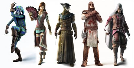 Assassin's Creed: Brotherhood v.1.03 + 7 DLC (2011/RUS/ITA/RIP от Fenixx)