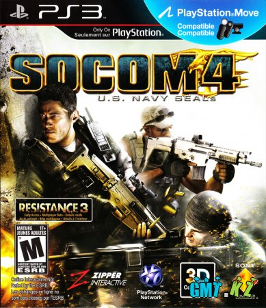 SOCOM 4: U.S. Navy SEALS (2011/RUS/FULL)