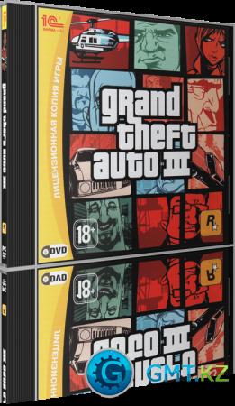 Grang Theft Auto III (2002/RUS-ENG/Лицензия)