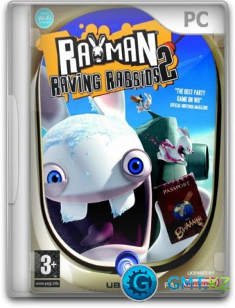 Rayman. Бешеные кролики 2 / Rayman Raving Rabbids 2 (2008/RUS/RePack от Fenixx)