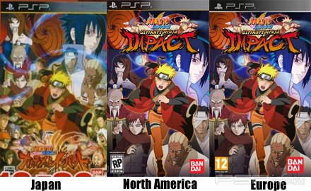 Naruto Shippuden: Ultimate Ninja Impact (2011/ENG/CSO)