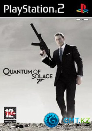 [PS2] 007 Quantum Of Solace [PAL/ENG/RUS]