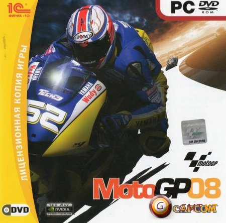 MotoGP 08(1C / 2008 / Rus) / [L]
