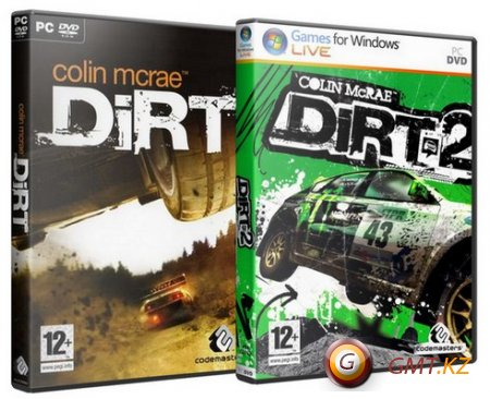 Дилогия Colin McRae: DiRT и DiRT 2 (2007-2009/RUS/RePack)