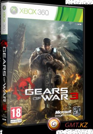 Gears of War 3 (2011/RUS/ENG/Region Free)