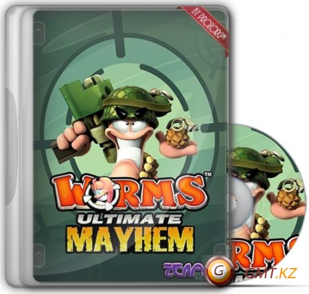 Worms™ Ultimate Mayhem (Team17 Software Ltd/RUS/Repack by RG Virtus)