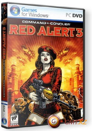 Command And Conquer. Red Alert 3 (2008/RUS/ENG/Пиратка)