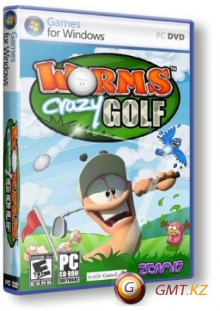 Worms Crazy Golf (2011/RUS/ENG/RePack от Fenixx)