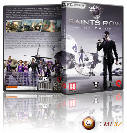 Saints Row: The Third v.1.0.0.1u4 + 19 DLC (2011/RUS/ENG/Multi9/RePack от Fenixx)