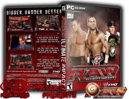 WWE Raw Ultimate Impact 2012 (Version 2)(/ENG/2011/PC)
