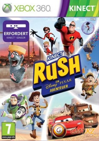 Kinect Rush: A Disney-Pixar Adventure (2012/ENG/Kinect/LT+3.0/RegionFree)