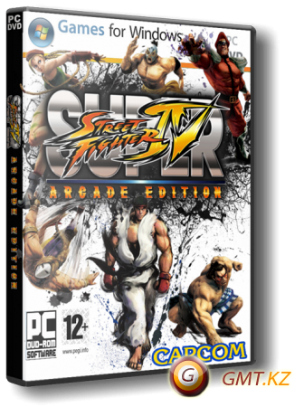 Super Street Fighter 4 Arcade Edition v.1.4.0.1 (2011/RUS/ENG/RePack от Fenixx)