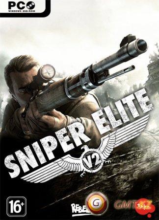 Sniper Elite V2 (2011/RUS/ENG/CRACK by SKIDROW + Русификатор)