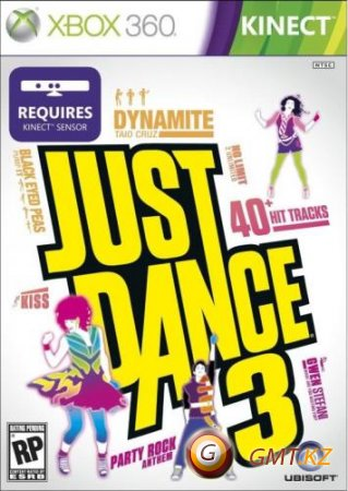 Just Dance 3 (2011/Region Free/ENG/LT+ v3.0)