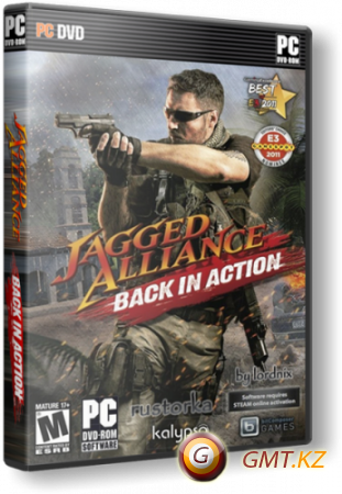Jagged Alliance v1.13b + 6 DLC (2012/RUS/RePack от Fenixx)