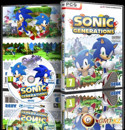 Sonic Generations v.1.0.0.5 + 1 DLC (2012/RUS/ENG/Repack от Fenixx)