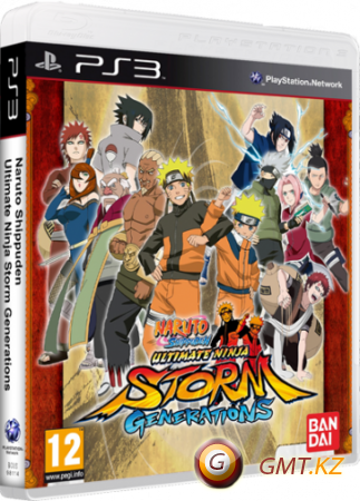 Naruto Shippuden: Ultimate Ninja Storm Generations (2012/ENG/FULL/True Blue)