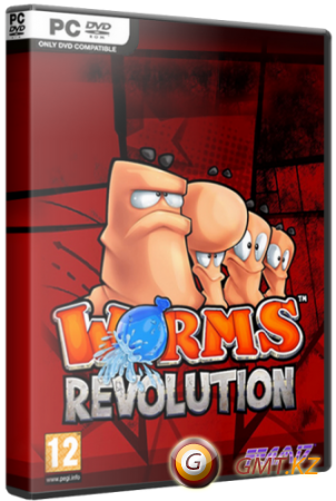 Worms Revolution v.1.0.140 + 6 DLC (2012/RUS/ENG/Multi7/RePack от  Fenixx)