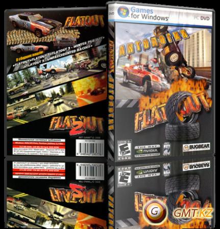 Антология FlatOut | FlatOut Anthology (2004-2011/RUS/ENG/RePack от R.G. Механики)
