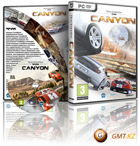 TrackMania Canyon (2011/RUS/Пиратка)