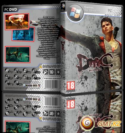 DmC: Devil May Cry + 4 DLC (2013/RUS/ENG/RePack от R.G. Revenants)