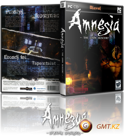 "Amnesia The Dark Descent + DLC ""Justine"" v.1.2.1 (2010/RUS/ENG/RePack от R.G. REVOLUTiON)"