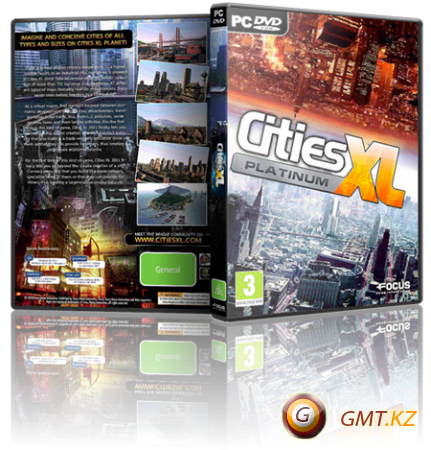 Cities XL Platinum v.1.0.5.725 (2013/RUS/ENG/RePack от Fenixx)
