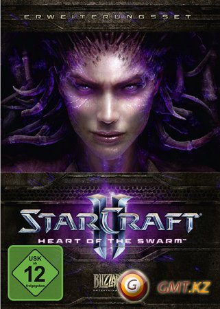 StarCraft II Heart of the Swarm (2013/RUS/ENG/Crack by FLT)