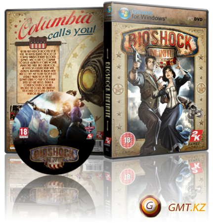 Bioshock Infinite v1.1.25.5165 + DLC (2013/RUS/ENG/RePack от Decepticon)