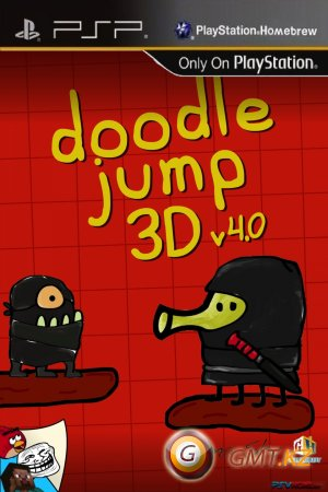 New Doodle Jump P5P / Christmas v5.1 (2013/RUS/PSP)