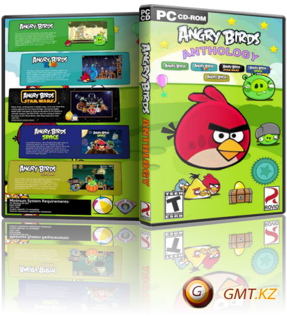 Angry Birds: Anthology + Bad Piggies (2012-2013/ENG/Лицензия)
