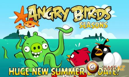 Angry Birds Seasons:Piglantis (2012/ENG/Android)
