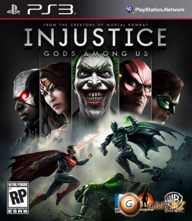 Injustice: Gods Among Us (2013/RUS/ENG/2хDVD5/4.21+/PAL/RePack)
