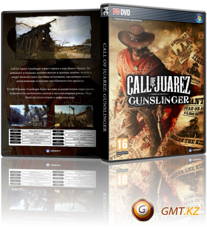Call of Juarez Gunslinger (2013/RUS/ENG/RePack от R.G. Revenants)