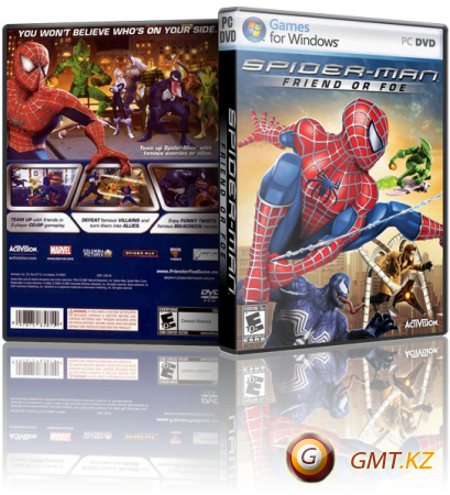 Spider-Man: Friend or Foe (2007/RUS/ENG/RePack)
