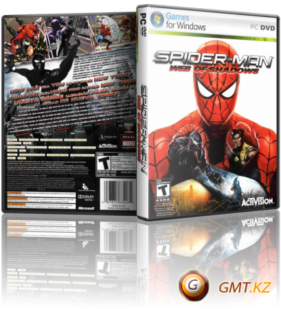 Spider-Man: Web of Shadows (2008/RUS/ENG/Repack от R.G. UniGamers)