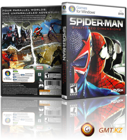 Spider-Man: Shattered Dimensions (2010/RUS/RePack от R.G. ReCoding)