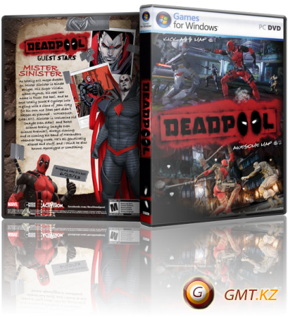 Deadpool (2013/RUS/ENG/RePack от R.G. Механики)