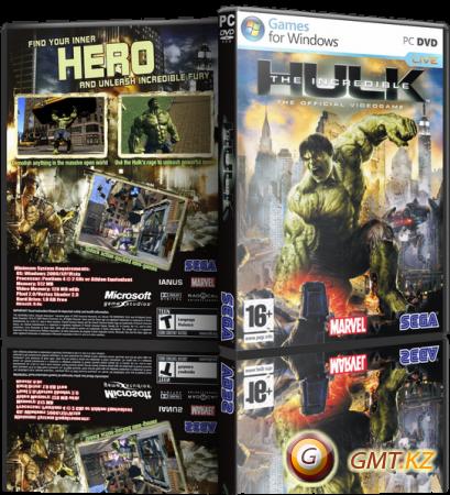 The Incredible Hulk / Невероятный Халк (2008/RUS/ENG/RePack)