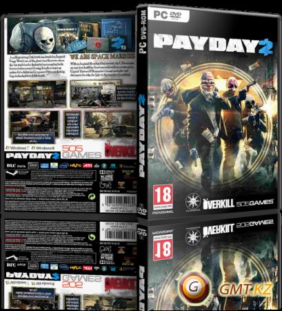 PayDay 2 Career Criminal Edition v.1.0 (2013/ENG/RePack от =Чувак=)