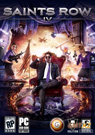 Saints Row IV (2013/ENG/Crack by Steam006)