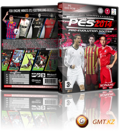 Pro Evolution Soccer 2014 v.1.13 (2013/RUS/ENG/RePack от xatab)