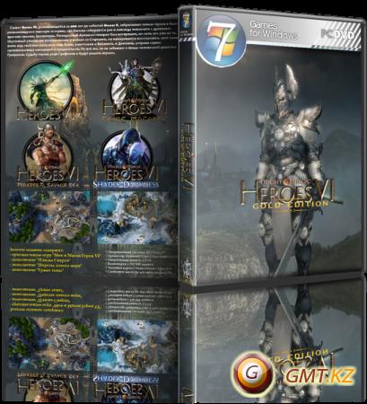Might & Magic: Heroes VI Gold Edition v.2.1.1.0 + 4 DLC (2013/RUS/ENG/RePack от Fenixx)