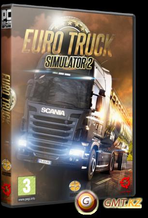 Euro Truck Simulator 2 v.1.25.3.0s + 44 DLC (2013/RUS/ENG/RePack от xatab)