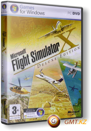 Microsoft Flight Simulator X Deluxe Edition (2007/RUS/ENG/Лицензия)