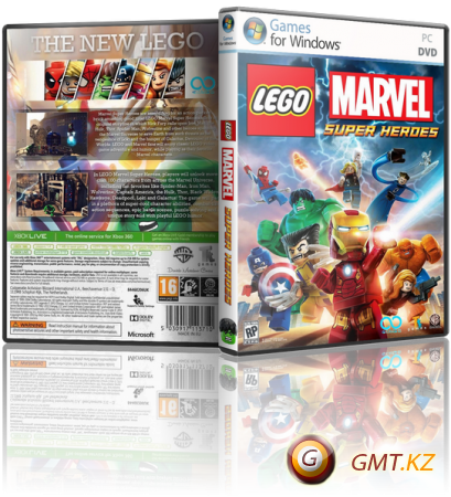 LEGO Marvel Super Heroes + 2 DLC v.1.0 (2013/RUS/ENG/RePack �� =�����)